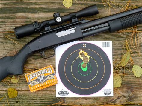 Shotgun Slug Barrel Accuracy