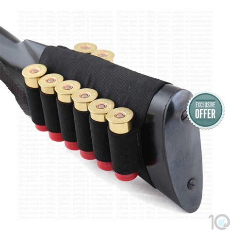 Shotgun Stock With Internal Shell Holder