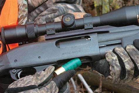Shotgun With Scope For Deer Hunting