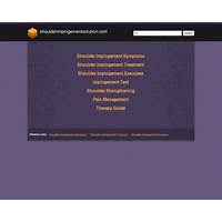 Shoulder impingement solution system secret code