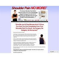 Cash back for shoulder pain no more (tm): top shoulder pain healing product on cb