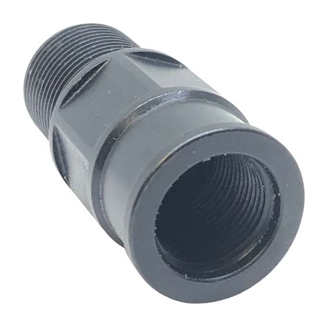 Shoulderless Thread Adapter 1 2-28 To 5 8-24 Precision .
