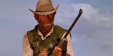 Show With Chuck Norris Using A Sniper Rifle