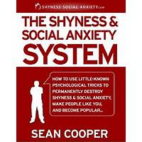 Shyness and social anxiety system sean cooper coupon code