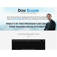 Sick of forex? try dowscalper dow emini futures system experience