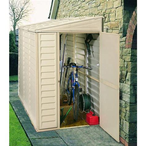 Side storage shed Image