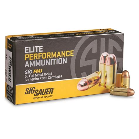 Sig 45 Acp Ammo Review