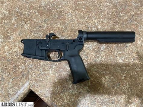 Sig 516 Lower Pistol Grip Assembly