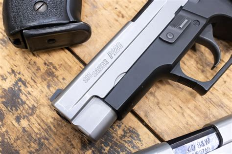 Sig P226 40 Accuracy Test