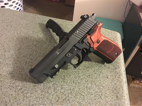 Sig P226 Rosewood Grips