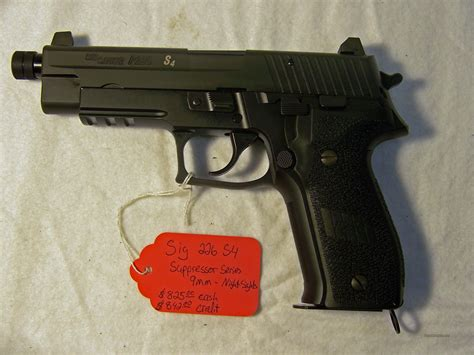 Sig P226 Suppressor Ready