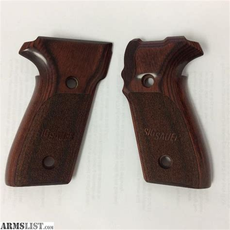 Sig P228 Factory Grips