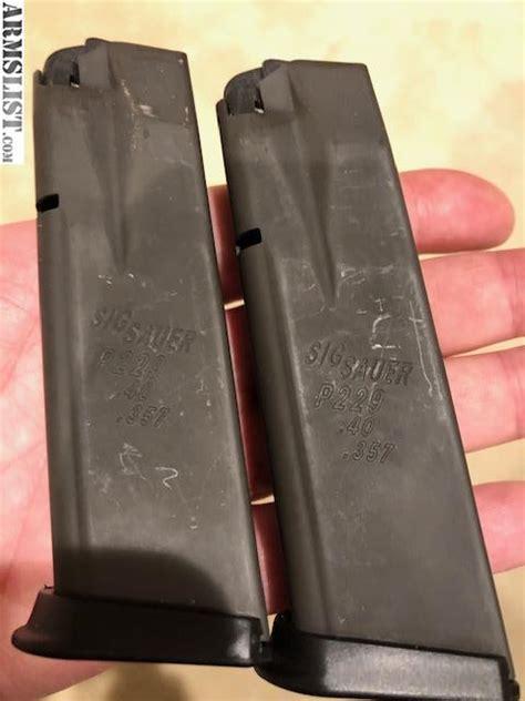 Sig P229 High Cap Mags