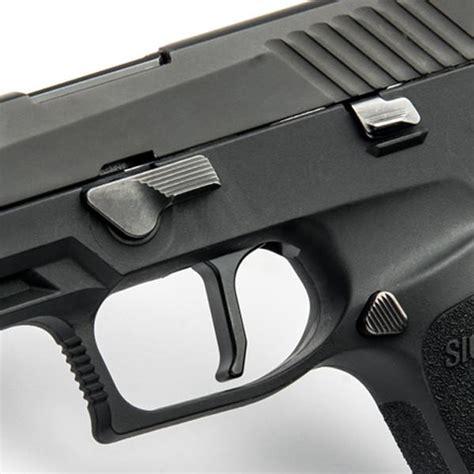 Sig P320 Flat Faced Action Enhancement Trigger