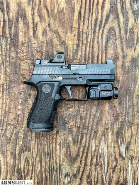 Sig P320 With Romeo 1 For Sale