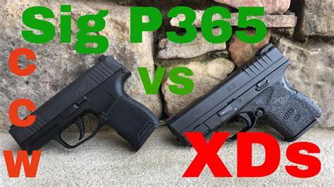 Sig P365 Vs Xds