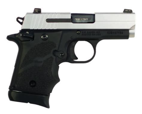 Sig P938 9mm 7rd 3 2tone Blk - BudsGunShop Com