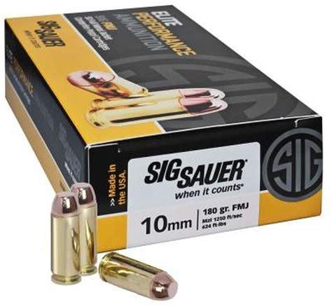 Sig-Sauer Sig Sauer 10mm Ammo Bulk.