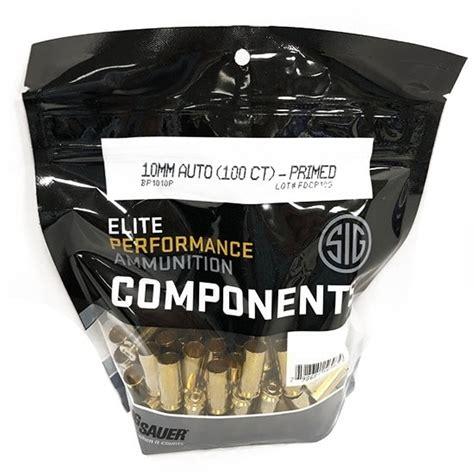 Sig Sauer 10mm Brass