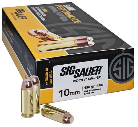 Sig Sauer 10mm Fmj Ammo Review