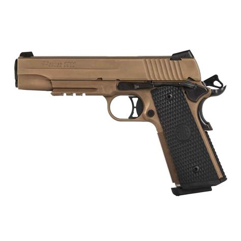 Sig Sauer 1911 Emperor Scorpion 10mm Review