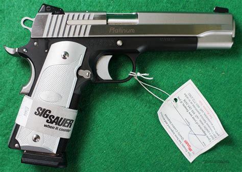 Sig Sauer 1911 Platinum Elite Carry For Sale