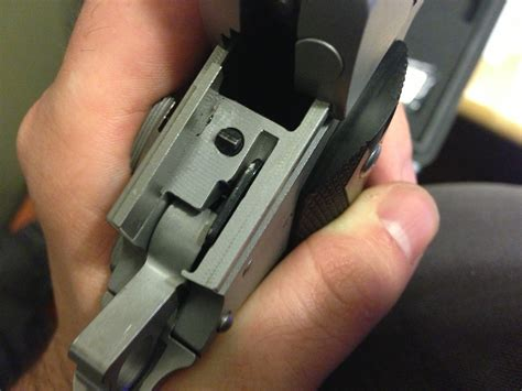 Sig-Sauer Sig Sauer 1911 Reassembly Problems.