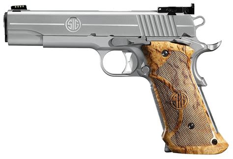 Sig Sauer 1911 Stainless Super Target Cal 45 Acp
