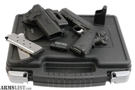 Sig Sauer 1911 Tactical Package 45 Acp