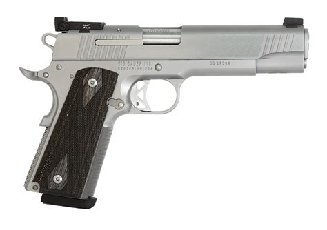 Sig Sauer 1911 Traditional Match Elite Stainless 9mm Pistol
