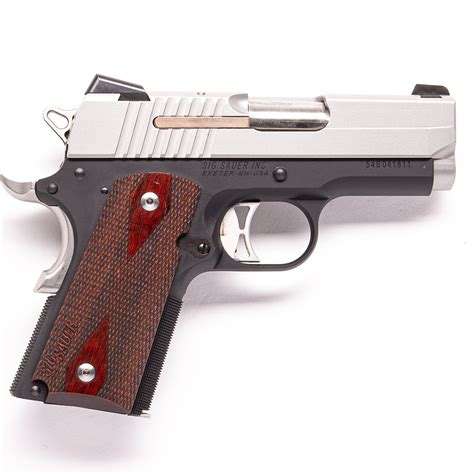 Sig-Sauer Sig Sauer 1911 Two Tone Ultra Compact.