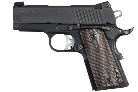 Sig-Sauer Sig Sauer 1911 Ultra Compact 45 Acp Review.