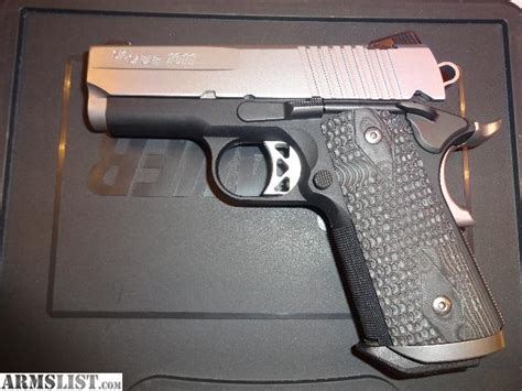 Sig Sauer 1911 Ultra Compact Limited Edition For Sale