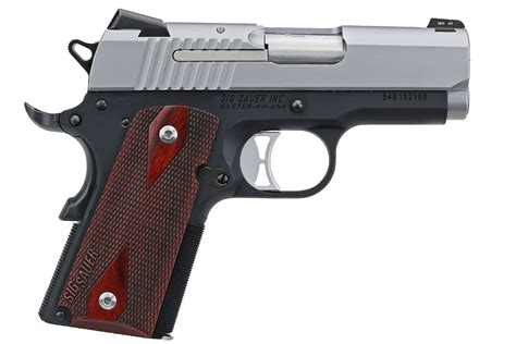 Sig Sauer 1911 Ultra Compact Two Tone 45 Acp And Sig Sauer 2200 Rangefinder For Sale
