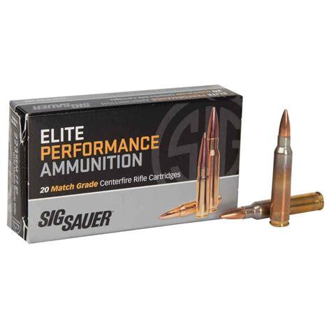 Sig Sauer 223 Remington 77gr Elite Match Grade Otm