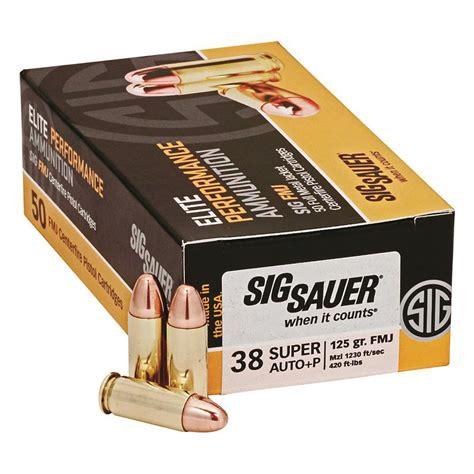 Sig Sauer 38 P 125