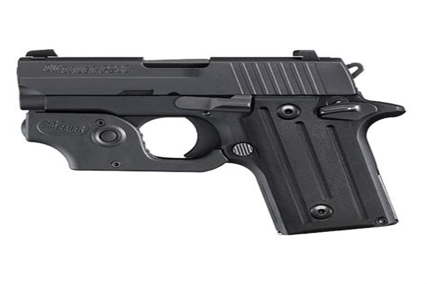 Sig Sauer 380 Pistol With Laser