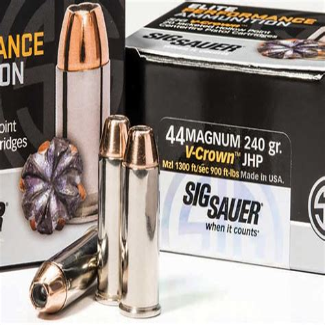 Sig Sauer 44 Magnum Ammo