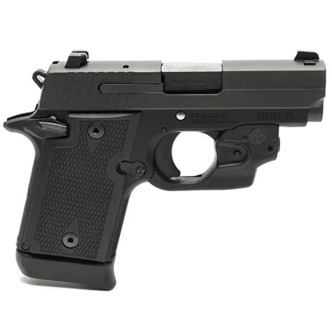 Sig Sauer 9mm With Laser Sight