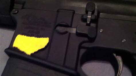 Sig Sauer Ambi Mag Release