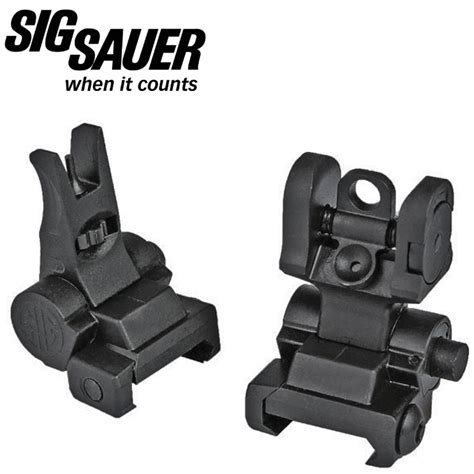 Sig Sauer Ar Style Flip Up Iron Sights M1913 Mgw