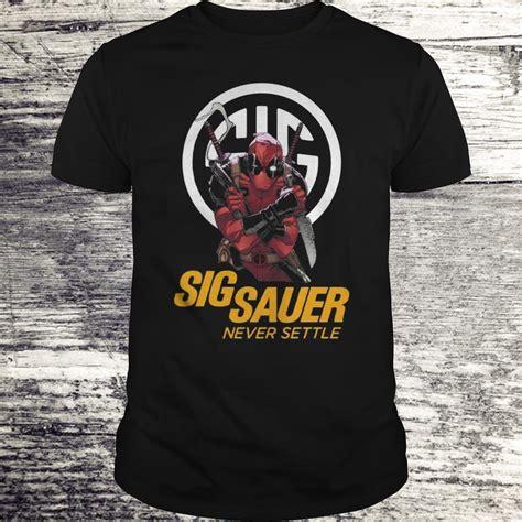 Sig Sauer Deadpool Shirt