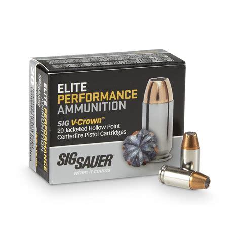 Sig Sauer Elite Performance 40 S W