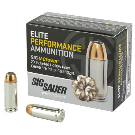 Sig Sauer Elite Performance Ammo 10mm Auto 180 Grain V