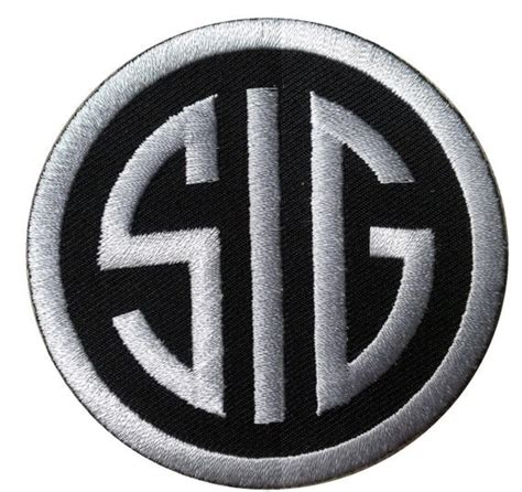 Sig-Sauer Sig Sauer Embroidered Patch.