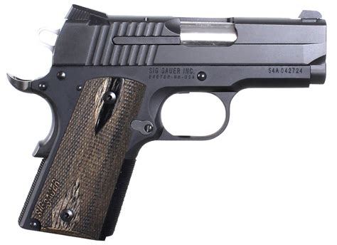 Sig Sauer Handguns Products 1911 9mm For Sale