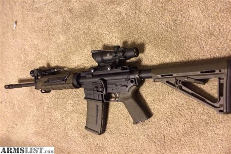 Sig Sauer M400 With Trijicon Acog