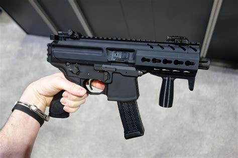 Sig Sauer Machine Gun Pistol And Left Handed Bolt Action Rifles