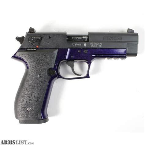 Sig-Sauer Sig Sauer Mosquito 22 Pistol Purple.