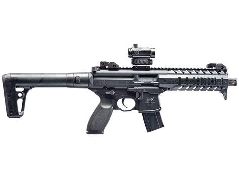 Sig Sauer Mpx Air Rifle Pellet Synthetic Stock Matte Barrel